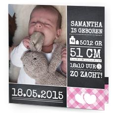 Leuke geboortekaartjes