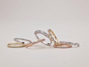 oorbellen 14 karaat bij Treasure Juwelier